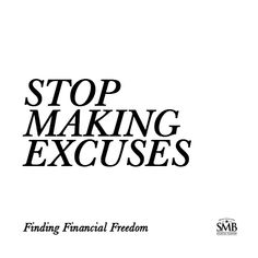 It's easy to make excuses and delay getting your financial affairs in order. But, remember the sooner you start, the easier it is. Stop Making Excuses, Life Cover, Financial Tips, Retirement Planning, Money Matters, It's Easy, Personal Finance, Helping People, Investing