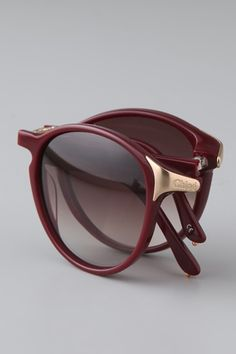 Chloe Sunglasses, $398, available at Shopbop.   What To Pack For Your Upcoming Trips, From A Jet-Set Expert! #refinery29