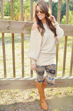 Cuddle By The Fire Sweater: Tan