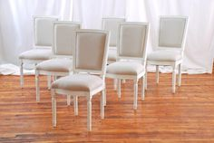Louis dining chairs