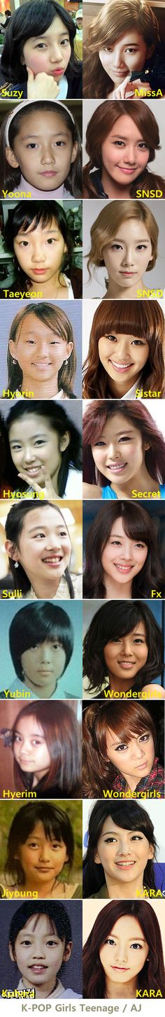 K-POP Girls Teenage