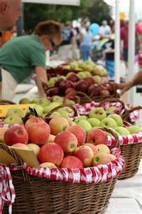 Every Labor Day week-end, Friday - Monday ... the NC Apple Festival in Hendersonville - North Carolina's prime apple growing area near Asheville.