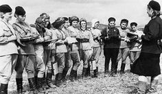 The Night Witches were an all-female bombing regiment in the Soviet Air Force. Flying biplanes meant for dusting crops and training new recruits, they dropped 23,000 tons of bombs on German forces in WWII. <a href=http://www.missedinhistory.com/blog/missed-in-history-night-witches/>Read the show notes here.</a>