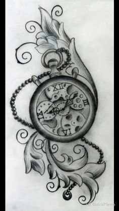 clock sleeve tattoos page 4 tattooshunter vintage. Black Bedroom Furniture Sets. Home Design Ideas