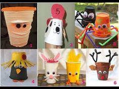 Αποτέλεσμα εικόνας για manualidades con vasos de papel