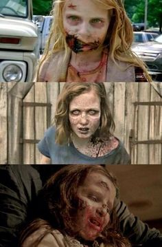Walkers Little Girls on The Walking Dead (AMC)