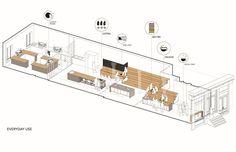 Galería de Centro cultural del Café / Jane Kim Design - 15