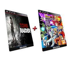 Tomb Raider   Dragon Ball Z GAME DIGITAL PS3 PSN PLAYSTATION STORE