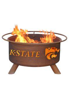 Kansas State Wildcats Fire Pit http://www.rallyhouse.com/K-State-Wildcats-Outdoor-Fire-Pit?utm_source=pinterest&utm_medium=social&utm_campaign=Pinterest-KSUWildcats