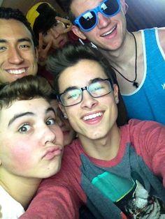 Kian, Ricardo, JC, Ricky, and Trevor :D