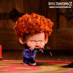 Oh boy. Who else has kids who think blowing raspberries is HILARIOUS? #HotelT2 | Hotel Transylvania 2 in theaters NOW