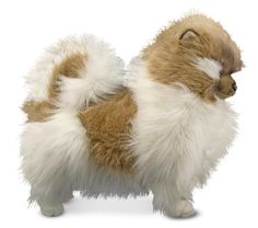 Huge Stuffed Animals | Melissa Doug Plush Pomeranian Dog Stuffed Animal