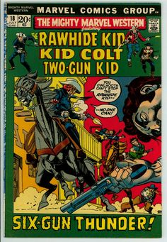 Mighty Marvel Western 18 (FN+ 6.5)
