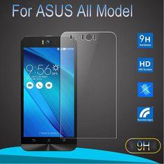9H Tempered Glass Screen Protector Film For ASUS Zenfone Go ZB500KL 3 2 Laser ZE500KL 3 Max ZC520TL 4 5 6 ZC550KL Selfie C Case