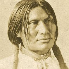 Despite many publications where this man is identified as the Minicoujou (Sioux) Big Foot, also known as Spotted Elk (killed at Wounded Knee), this is the Oglala (Sioux) Big Foot.