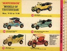 Toy Catalogs, Corgi Toys, Matchbox Cars, Small Letters, Old Toys, Our Kids, Vintage Advertisements, Vintage Toys, Diorama