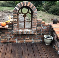Elegant Window of the backyard home Vertical Pallet Garden, Herb Garden Pallet, Pallets Garden, Vegetable Garden, Garden Deco, Garden Art, Garden Design, Patio Pergola, Backyard Landscaping