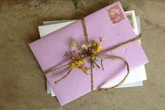 DIY: Personalized Envelope Lining - Free People Blog
