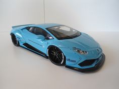 1/18 ROBS REPLICAS LAMBORGHINI HURACAN LB WORKS LIBERTY WALK PROTOTYPE LIGHT BLUE PEARL LIMITED TO 20 MODELS ALL PRE SOLD IN 8 DAYS