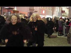 Krampus in Osttirol 2012 - YouTube