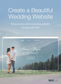 Ready to make your wedding website? Get started now with our gorgeous wedding website templates! Go live today - it's easy & free.