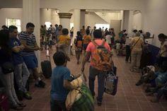 PUERTO VALLARTA, Mexico (AP) — Hurricane Patricia roared onshore in southwestern Mexico on Friday 10/23/15
