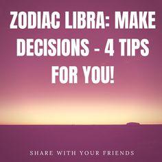 Zodiac Libra: make decisions - 4 tips for you! Cancer Facts, Sagittarius Facts, Zodiac Capricorn, Zodiac Calendar, Zodiac Compatibility, Sign Quotes, Zodiac Signs, Star Constellations