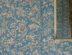 Hagelsrums Handtryck - Handtryckta tapeter-Handprinted Wallpaper