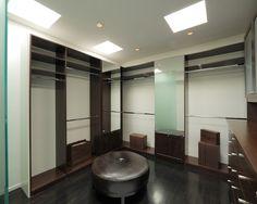our dressing room makeover Closet Island, Big Closets, Modern Closet, Master Closet, Custom Cabinetry, Interiores Design, Architecture Design, Sweet Home, House Design