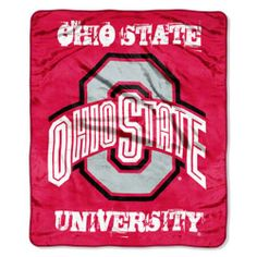 Ohio State Buckeyes Micro Raschel Throw Blanket Northwest,