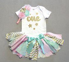 Twinkle Twinkle Little Star Fabric Tutu Bodysuit/Tee by FlyAwayJo