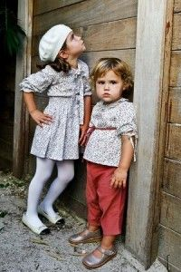 how I hope to have little girls in clothes like this someday.  Handmade with love, of course.