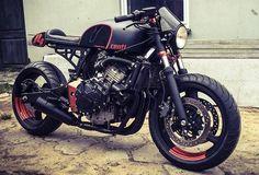 "Honda CB600F ""Centi"" by Cardsharper Customs of Poland"