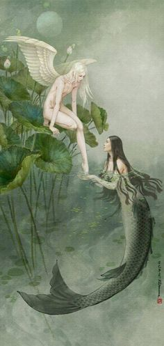 Image result for angel or mermaid