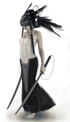 Cyberpunk warrior by alessandro rossi on ArtStation.