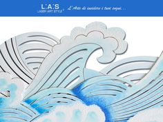 #CuriosityLAS Foamy waves as reality! Three-dimensional effect, did you notice? http://www.laserartstyle.it/home/gallery/paesaggi/