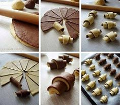 Only pictures but lots of brilliant ideas got baking Croatian Recipes, Turkish Recipes, Bread Shaping, Kolaci I Torte, Bread Cake, Bread And Pastries, Pastry Cake, Cupcake Cookies, Creative Food