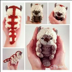 Remarkable 25 Geeky Projects Perfect For National DIY Day – One Geek Diy Crochet, Crochet Dolls, Crochet Crafts, Knitting Projects, Crochet Projects, Knitting Patterns, Crochet Patterns, Avatar The Last Airbender, Crochet Animals