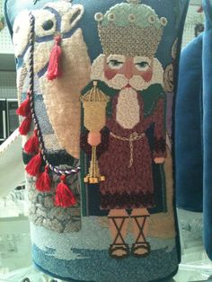 Tapestry Tent stocking with stitch guide by Amy Bunger     Kelly Clark with stitch guides by Amy Bunger                             Pe...