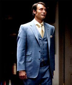 Mads Mikkelsen as Hannibal you smug son of a bitch