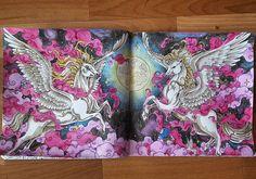 "146 Likes, 4 Comments - Momo (@momo.drawings) on Instagram: ""Aus dem neuen Mythomorphia  #mythomorphia #ausgemalt #ausmalenfürerwachsene #coloringbook #color…"""