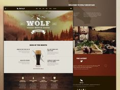 Wolf Mountain Brewery by Nate Currin