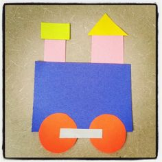 Choo..choo..all aboard! Make way for our train craft for storytime this week @ Alamitos library.