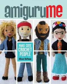 Make a miniature version of you, your friends, and celebrities too! You'll absolutely love this comprehensive guide to creating amigurumi people. Media favorite Allison Hoffmanwhose delightful creatio