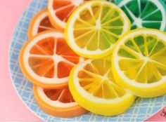 How to make cute lemon/lime and orange soap. We are head over heals in love with these homemade soaps shaped like lemons slices. They look like a million bucks and smell great! Learn how to make them here --> http://gwyl.io/create-lemon-slice-soap/