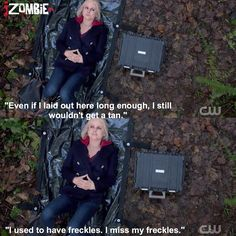 "#iZombie 1x05 ""Flight of the Living Dead"" - Liv"