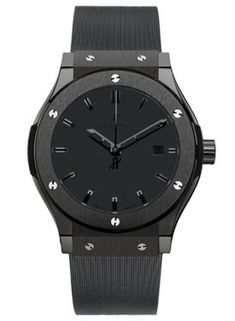 Hublot Watches - Classic Fusion 38mm All Black - Style No: 561.CM.1110.RX