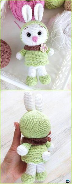 Amigurumi Crochet Sunny Bunny Free Pattern - Crochet Amigurumi Bunny Free Patterns