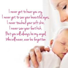 God has greater plans for you, then here on this earth.  Today angels hold you and you've been blessed to have never known what it is like to shed a tear.  I shed mine selfishly for you and me but find strength in knowing this is not the end...one day you will welcome me home.