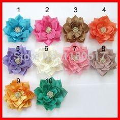 39 Best fabric flowers images  c388ecbd287a